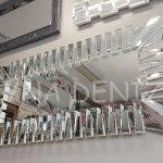 Akustik White Silver Model Beyaz Şeffaf Renk Modern Ayna-8