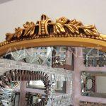 Matmazel Model Altın Renk Boy Aynası-12