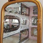 Matmazel Model Altın Renk Boy Aynası-18
