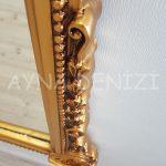 Matmazel Model Altın Renk Boy Aynası-21