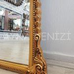 Matmazel Model Altın Renk Boy Aynası-22