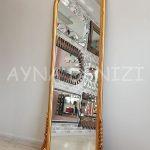 Matmazel Model Altın Renk Boy Aynası-7