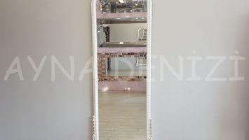 Matmazel Model Beyaz Altın Renk Boy Aynası
