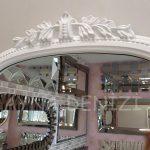 Matmazel Model Beyaz Renk Boy Aynası-17