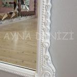 Matmazel Model Beyaz Renk Boy Aynası-20