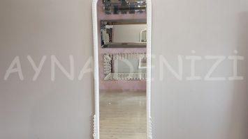 Matmazel Model Beyaz Renk Boy Aynası