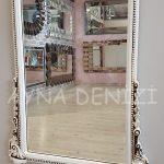 Matmazel Model Eskitme Beyaz Renk Boy Aynası-13