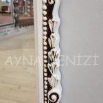 Matmazel Model Eskitme Beyaz Renk Boy Aynası-14