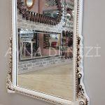 Matmazel Model Eskitme Beyaz Renk Boy Aynası-21