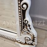 Matmazel Model Eskitme Beyaz Renk Boy Aynası-23