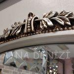 Matmazel Model Gümüş Renk Boy Aynası-12