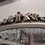 Matmazel Model Gümüş Renk Boy Aynası-13