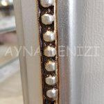 Matmazel Model Gümüş Renk Boy Aynası-14