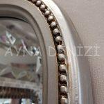 Matmazel Model Gümüş Renk Boy Aynası-15