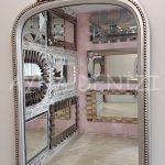 Matmazel Model Gümüş Renk Boy Aynası-18