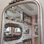 Matmazel Model Gümüş Renk Boy Aynası-20