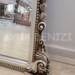 Matmazel Model Gümüş Renk Boy Aynası-22