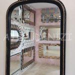 Matmazel Model Siyah Altın Renk Boy Aynası-18
