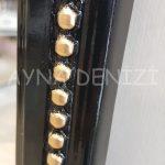 Matmazel Model Siyah Altın Renk Boy Aynası-23