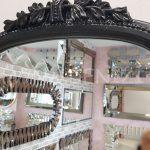 Matmazel Model Siyah Renk Boy Aynası-15
