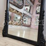 Matmazel Model Siyah Renk Boy Aynası-23