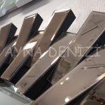 Güneş Piyano Black Bronze Model Siyah Bronz Renk Modern Ayna-14