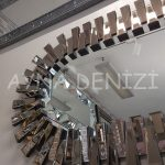 Güneş Piyano Black Bronze Model Siyah Bronz Renk Modern Ayna-23