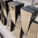 Güneş Piyano Black Bronze Model Siyah Bronz Renk Modern Ayna-24