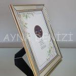 Jesy Fifth Silver Model Gümüş Renk Dekoratif Aynalı Resim Çerçevesi-10
