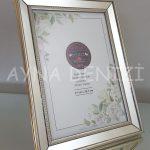 Jesy Fifth Silver Model Gümüş Renk Dekoratif Aynalı Resim Çerçevesi-11