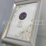 Jesy Fifth Silver Model Gümüş Renk Dekoratif Aynalı Resim Çerçevesi-13