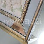 Jesy Fifth Silver Model Gümüş Renk Dekoratif Aynalı Resim Çerçevesi-20