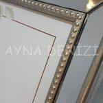 Jesy Fifth Silver Model Gümüş Renk Dekoratif Aynalı Resim Çerçevesi-23
