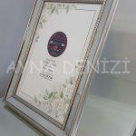 Jesy Fifth Silver Model Gümüş Renk Dekoratif Aynalı Resim Çerçevesi-3