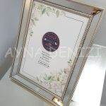 Jesy Fifth Silver Model Gümüş Renk Dekoratif Aynalı Resim Çerçevesi-4