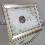 Jesy Fifth Silver Model Gümüş Renk Dekoratif Aynalı Resim Çerçevesi-8