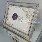 Jesy Fifth Silver Model Gümüş Renk Dekoratif Aynalı Resim Çerçevesi-9
