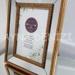 Jesy First Gold Model Altın Renk Dekoratif Aynalı Resim Çerçevesi-8
