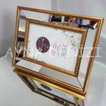 Jesy First Gold Model Altın Renk Dekoratif Aynalı Resim Çerçevesi-9