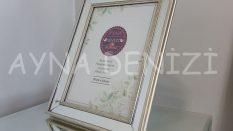 Jesy Fourth Silver Model Gümüş Renk Dekoratif Aynalı Resim Çerçevesi