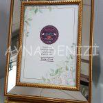 Jesy Third Gold Model Altın Renk Dekoratif Aynalı Resim Çerçevesi-10
