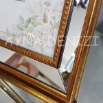 Jesy Third Gold Model Altın Renk Dekoratif Aynalı Resim Çerçevesi-20