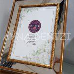 Jesy Third Gold Model Altın Renk Dekoratif Aynalı Resim Çerçevesi-5