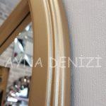 Lecce Model Altın Renk Dekoratif Pencere Ayna-17