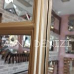 Lecce Model Altın Renk Dekoratif Pencere Ayna-21