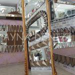Matmazel Model Altın Renk Ayaklı Boy Aynası-10