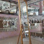 Matmazel Model Altın Renk Ayaklı Boy Aynası-11