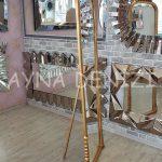 Matmazel Model Altın Renk Ayaklı Boy Aynası-12
