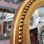Matmazel Model Altın Renk Ayaklı Boy Aynası-17