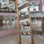 Matmazel Model Altın Renk Ayaklı Boy Aynası-2